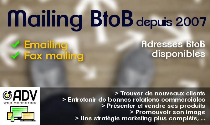 Mailing BtoB